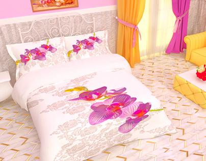 bed sheet 3D
