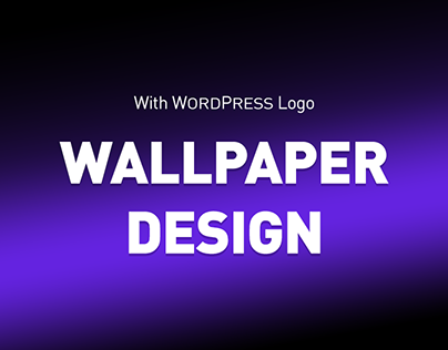 Wallpaper Graphic Design with WP Logo