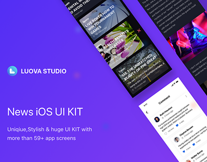 News iOS UI Kit