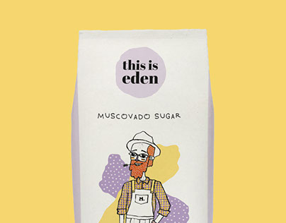 This is Eden - Sugar Packaging