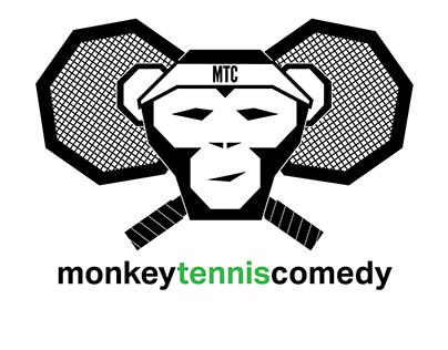 Monkey Tennis Comedy