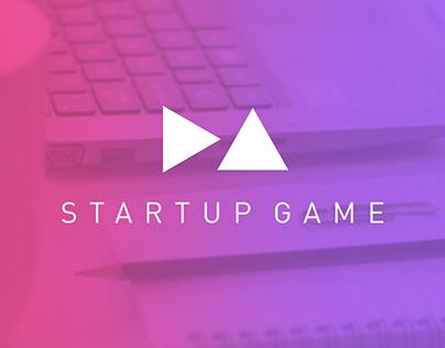 STARTUP GAME Event Branding (Logo & Brand)