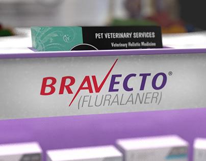 Bravecto Veterinarian Office Merchandiser