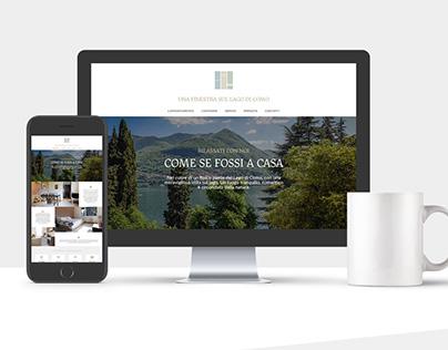 """Web Site for """"Una finestra sul lago di Como"""""""