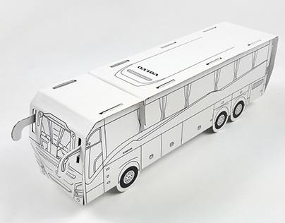 Bus 3D coloring model