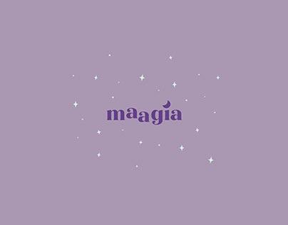 maagia – cosmetics brand identity.