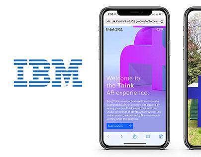 IBM THINK WebGL and AR