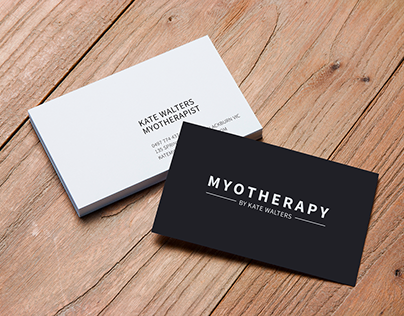 Myotherapy by Kate Walters Logo Design