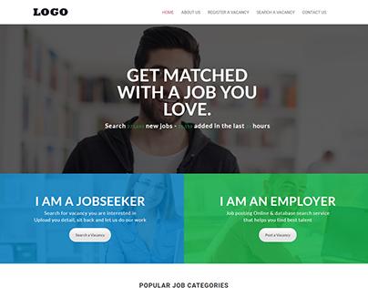 Website for Recruitment Agency....