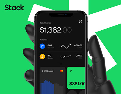 Stack - crypto trading and investment