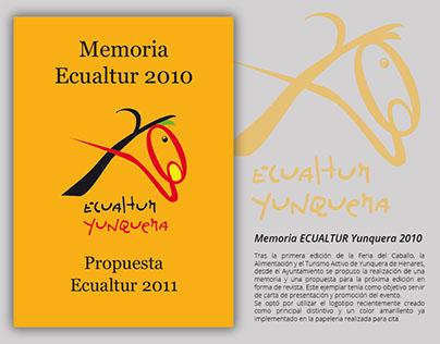 Memoria ECUALTUR Yunquera 2010 y propuesta 2011