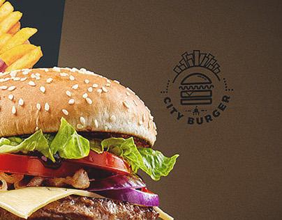 City Burger basic identity elements