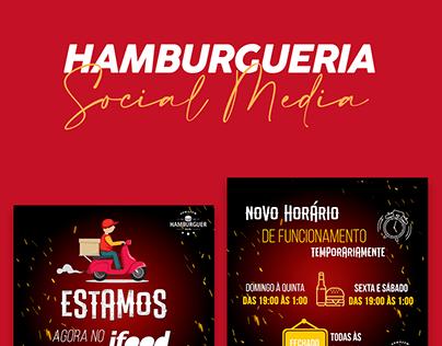 Hamburgueria | Social Media Armazém do Hamburguer