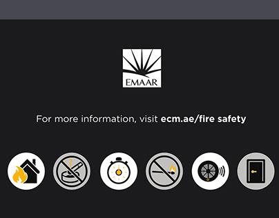 Animated Infographics Emaar Properties