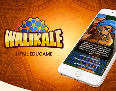 Walikale - HTML Edugame