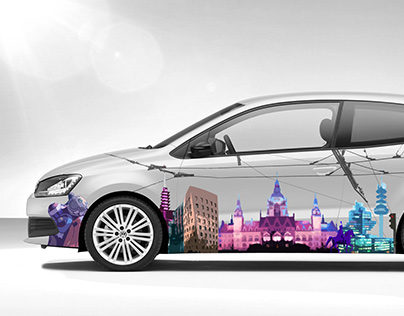 VW Polo // Car wrapping