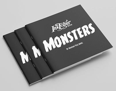 Libro Inktober Monsters