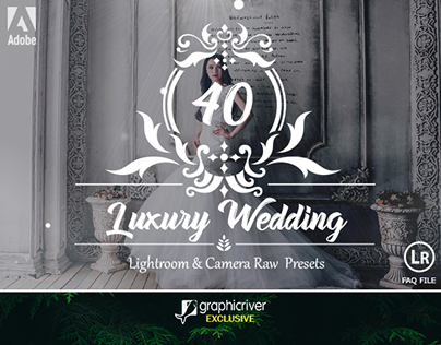 40 Luxury Wedding Lightroom and Camera RAW Presets