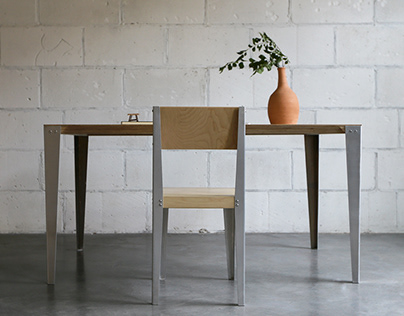 OFS Chair and Table