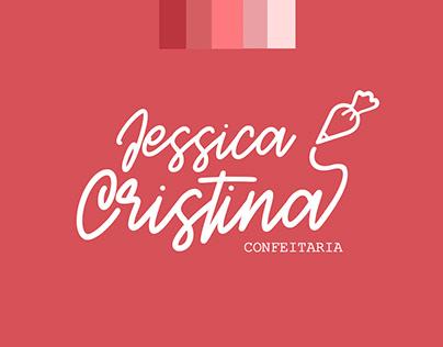 Apresentação Logo Confeitaria Jessica Cristina