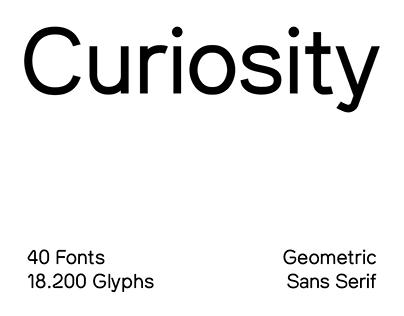 SK Curiosity Typeface