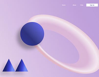 Trending 3D Website UIUX Designs   Trending 2021