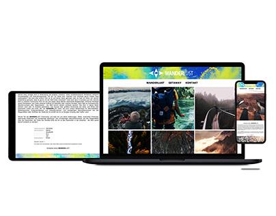 Responsive Webdesign Lifestyle Blog