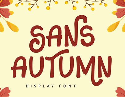 Sans Autumn Font