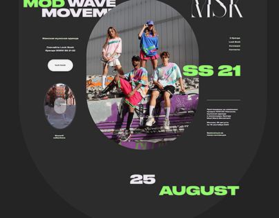 Mod Wave Movement | Сайт на Тильде