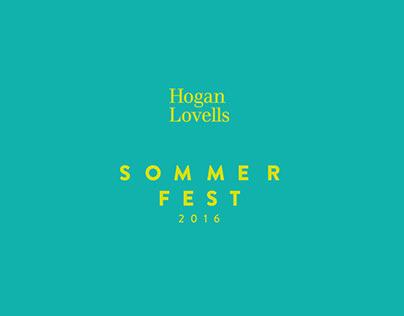 Hogan Lovells Event Branding