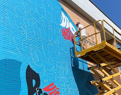 Vedo a Colori 2021 - Lettering Wall