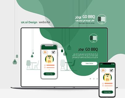 Food UX- Food Web App
