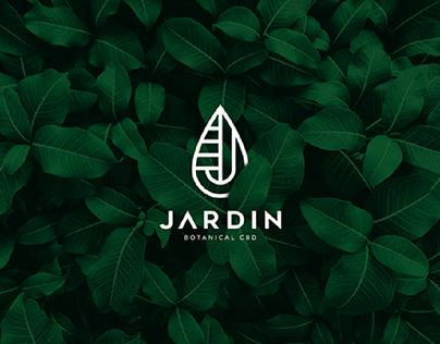 JARDIN CBD - Logo and Packaging