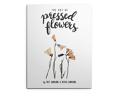 The Art of Pressed Flowers (mini-zine)