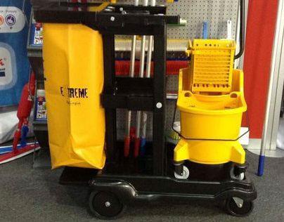 Cleaning Cart / Carro de Limpieza