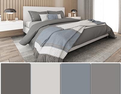 Bedroom Design (Vray 4.2 for SketchUp)