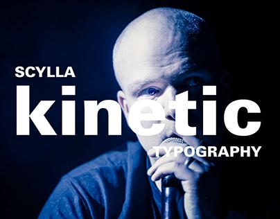 SCYLLA - KINETIC TYPOGRAPHY