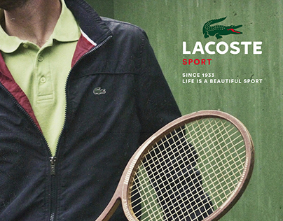 Lacoste Sport Campaign