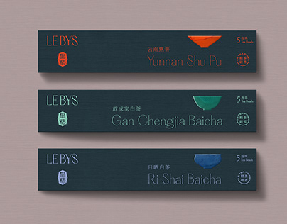 Tea Brand Identity and Packaging for LE BYS