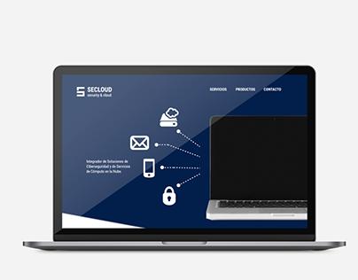 SECLOUD | Web Design