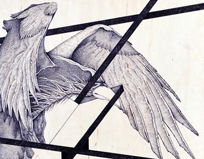 Corvus.Pro - DotWork / Stippling