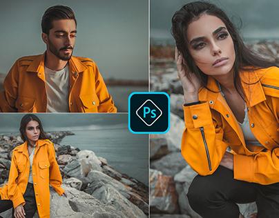 Moody orange | Free Preset Photoshop