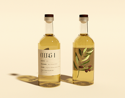 CULT45 Olive Oil - Packaging