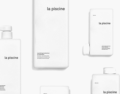 """La piscine"" Corporate Design"