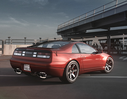 300zx — surface modeling