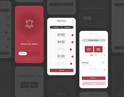 UI Daily challenge - Alarm Clock