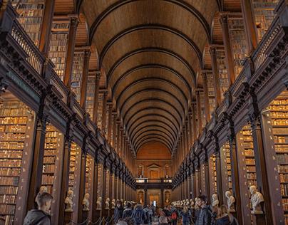 Trinity College Long Library, Dublin
