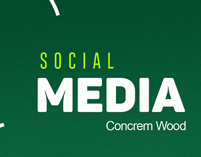 Mídias sociais - Concrem Wood 2018.1