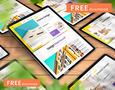 (FREE) iPad Pro Mockup