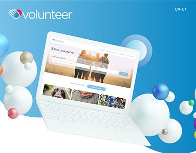 UX/UI - Volunteer